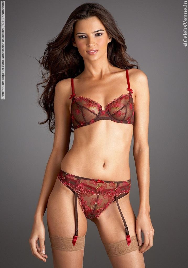 Celebrities In Hot Bikini French Lingerie Model Jennifer