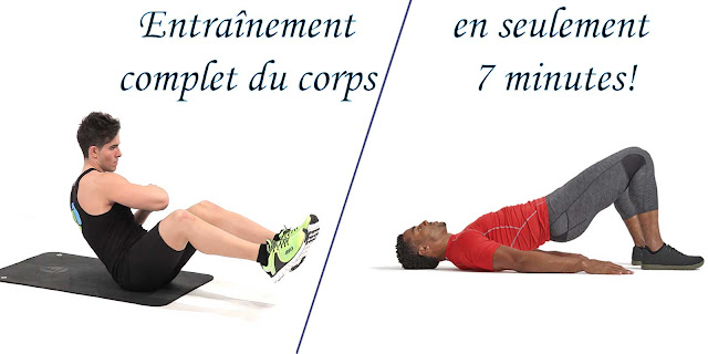 Un entraînement complet du corps en seulement 7 minutes!