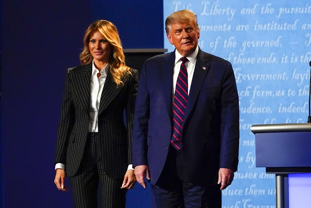 US President Donald Trump And Wife Melania Trump Test Positive For COVID-19