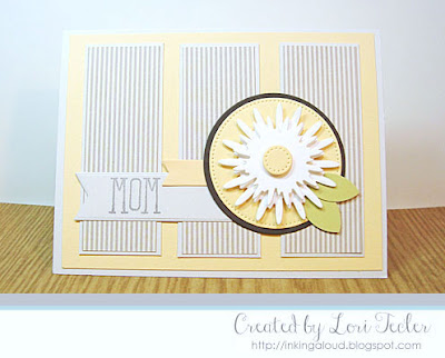 Mom card-designed by Lori Tecler/Inking Aloud-stamps from Verve Stamps