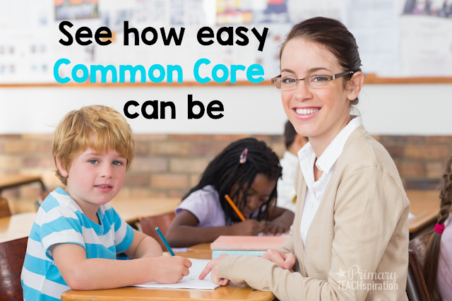 Just how easy can it be to teach Common Core State Standards to 1st and 2nd graders? By using a simple daily language arts and math review that spirals throughout the year - that's how!  Take a look at week of this one powerful learning tool to see how it will work for student success all year.