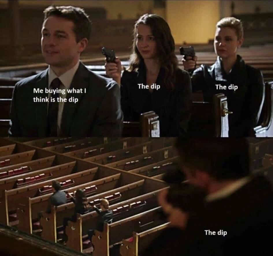 bitcoin dip funny memes