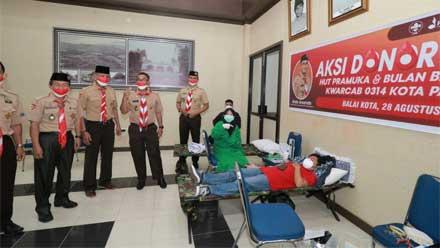 Kwarcab 0314 Kota Payakumbuh Adakan Donor Darah