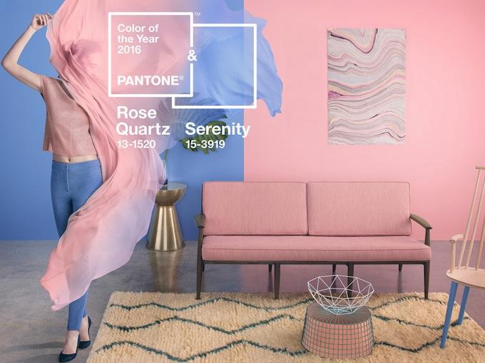 Kleurtrend Roze Interieur : Atelj pantone kleurtrend
