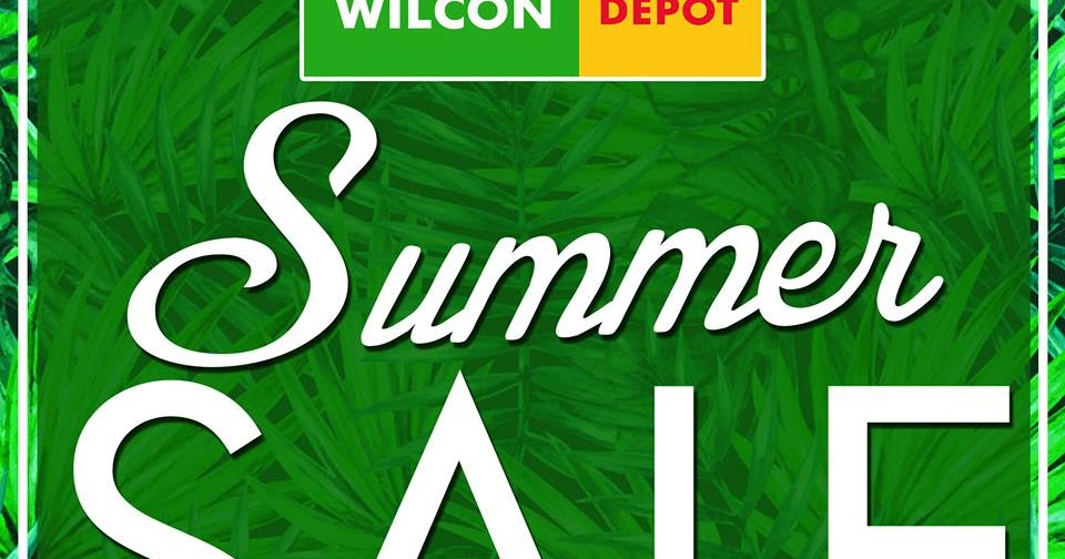 Manila Shopper Wilcon Home Depot Summer Sale April 2017