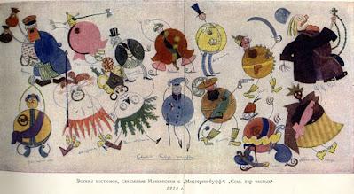 "Costume designs for ""Misteriya-Buff"