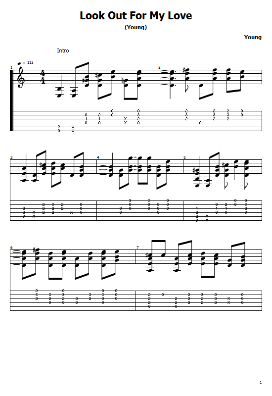 Look Out For My Love Tabs Neil Young - How To Play Look Out For My Love, Neil Young On Guitar Free Tabs & Free Sheet Music. Neil Young - Look Out For My Love