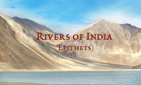 Epithets of Rivers in India
