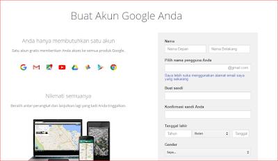 Buat Gmail Baru