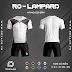 Áo Không Logo Rozaco RO-LAMPARD Màu Trắng