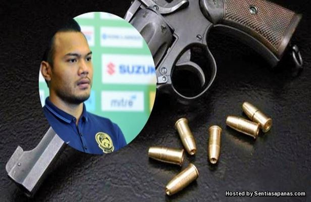 Pistol Dirampas Polis Bukan Milik Safee Sali!