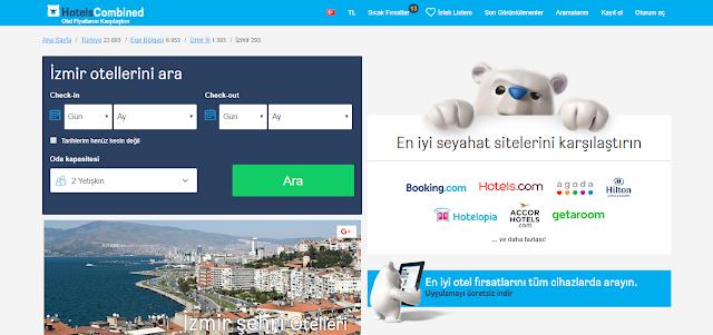İzmirde ucuz oteller ve fiyatları