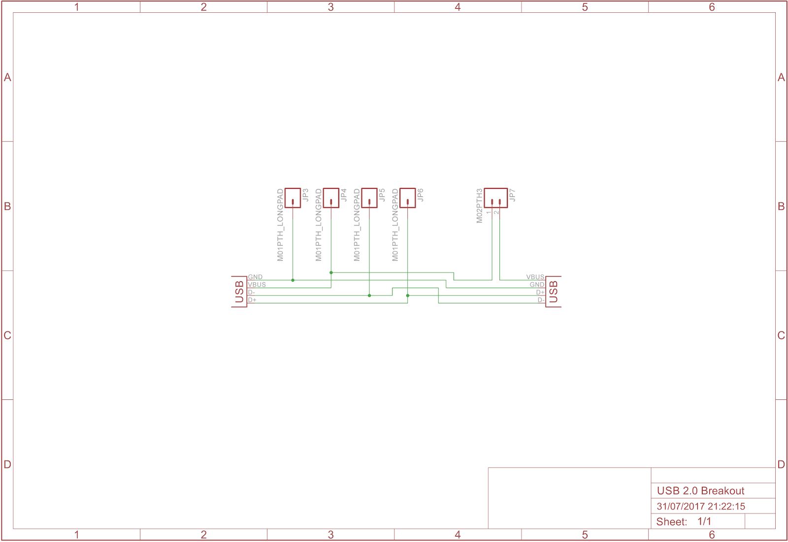 Member Posts Hackspace Manchester Circuit Board Articles Rush Pcb Blog High Current Designing The Layout Is A Little More Complicated I Would Like To Keep As Small Possible But Maintain Recommended Conductor Impedance That Usb