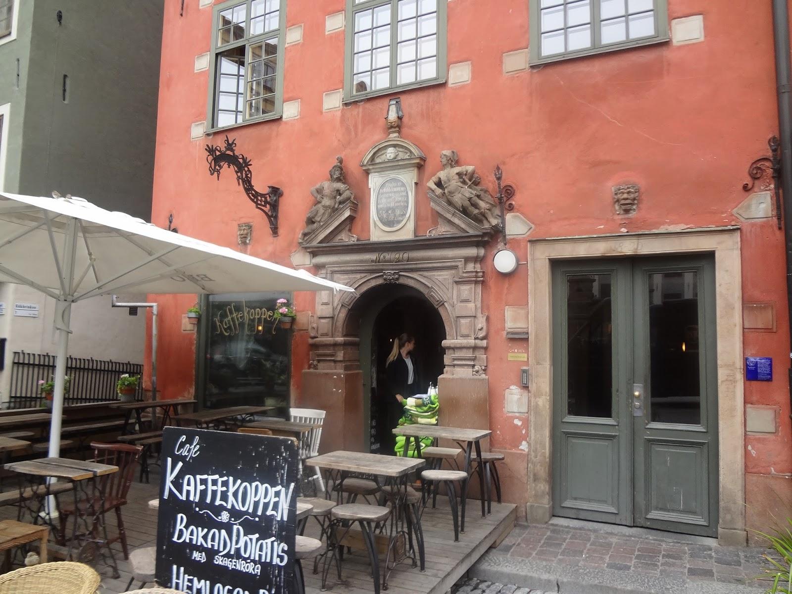 café à Gamla stan