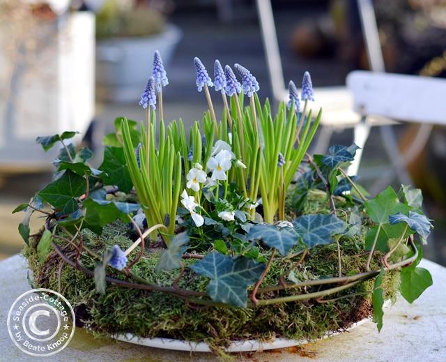 DIY Ostern und Frühling Mooskranz