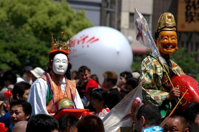 Hakata Dontaku Festival in Fukuoka City, Fukuoka Pref.