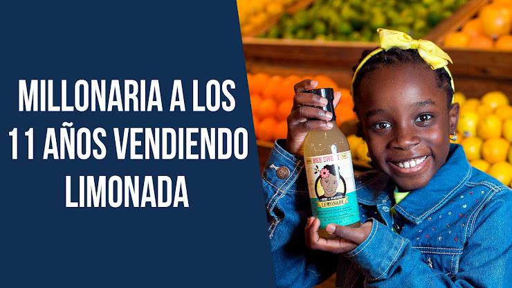 Se hizo millonaria a los 11 años vendiendo limonada - Mikaila Ulmer