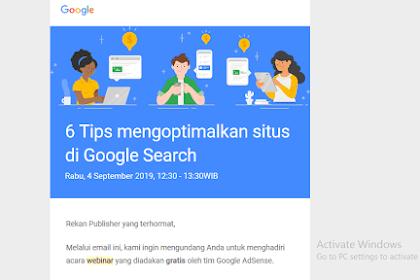 6 Tips Mengoptimalkan Situs atau Blog di Pencarian Google