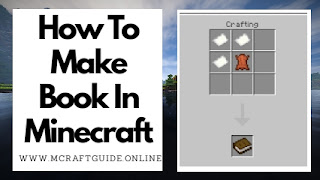 Minecraft Book Recipe