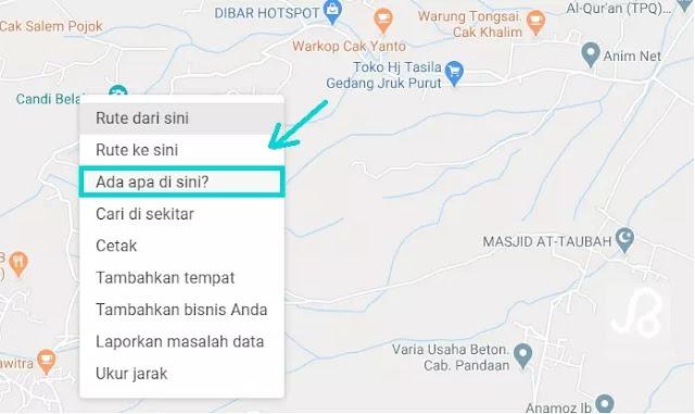 Cara Mencari Koordinat Lintang dan Bujur di Google Maps-1