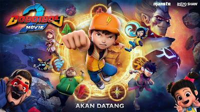 Sinopsis dan Tarikh Tayangan Boboiboy The Movie 2 (2019)