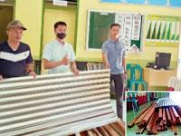Kantor Desa Sei Nagalawan Perbaungan Terima Bantuan Dari PT Aquafarm Nusantara Sergai