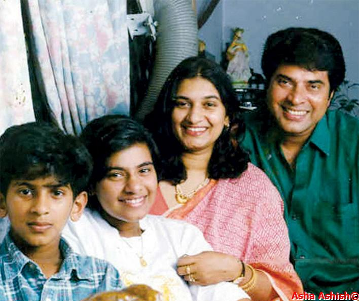 Asha Ashish: Malayalam Superstar Mammootty Family Pix
