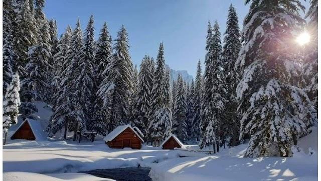 """Pogledajte ovu LJEPOTU - """"Prokletije"""" pod snijegom izgledaju kao iz BAJKE!"""