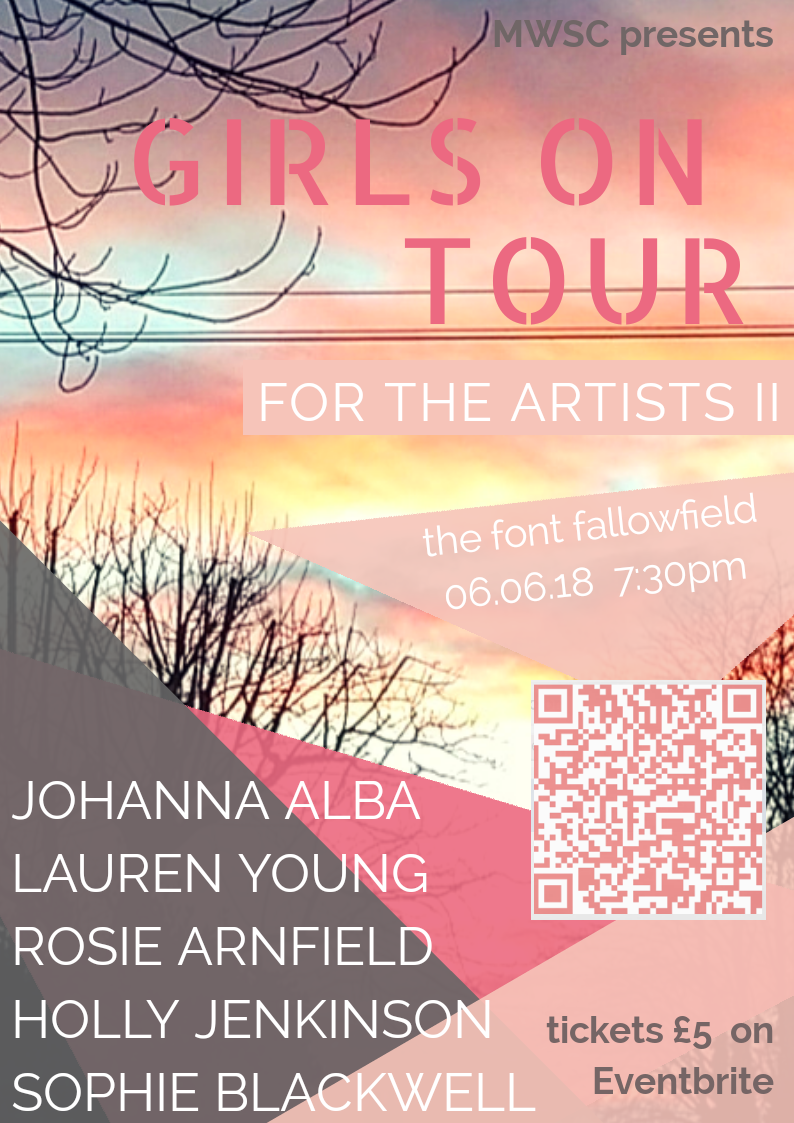 Girls On Tour - Wed 6th June