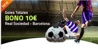 Luckia promo Real Sociedad vs Barcelona 15-21 marzo 2021