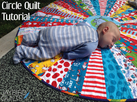 Circle Quilt Tutorial Jaybird Quilts