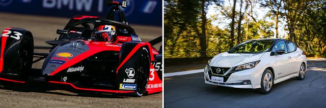 La Fórmula E y los vehículos eléctricos de Nissan