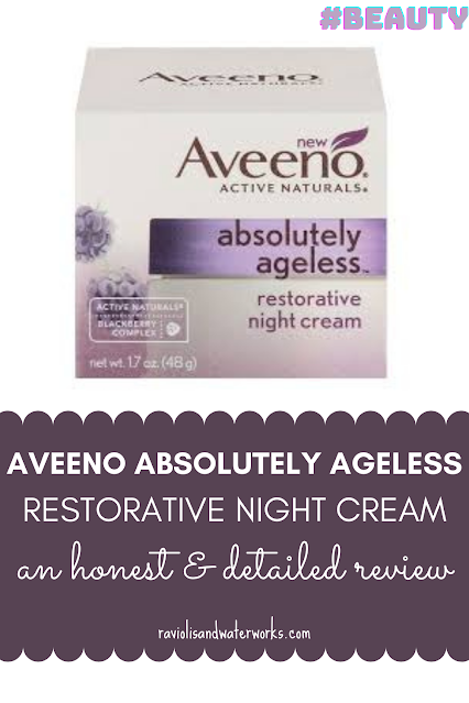real life example of aveeno absolutely ageless