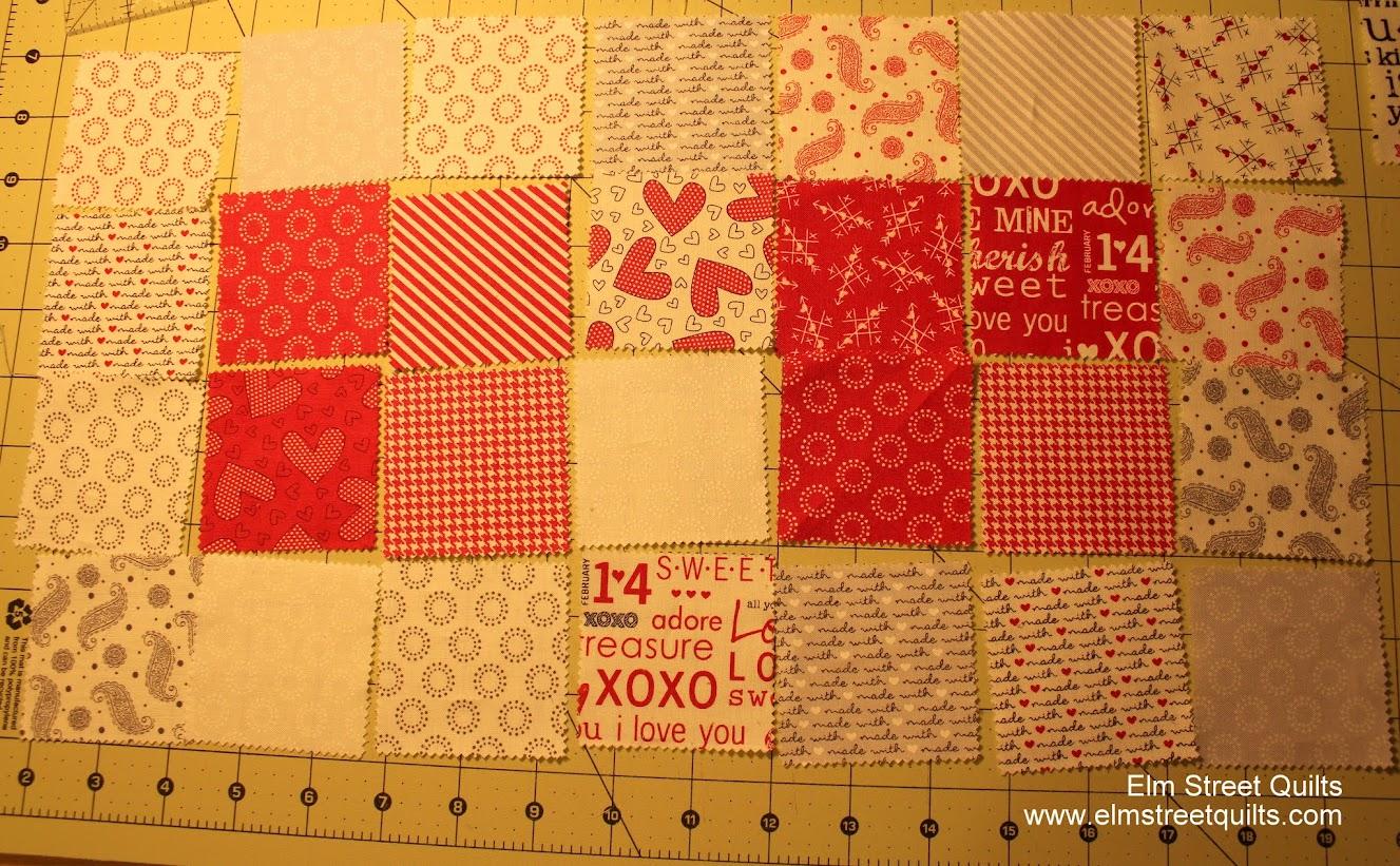 tutorial valentine quilt