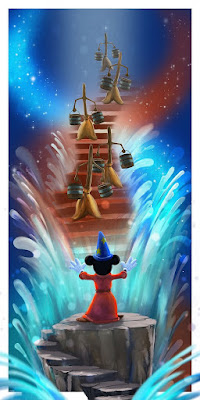 """Disney Perspectives"" Fine Art Giclee Print Series by Andy Fairhurst x Eyeland Prints x Bottleneck Gallery"
