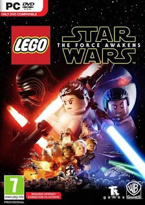 Capa do LEGO Star Wars: The Force Awakens