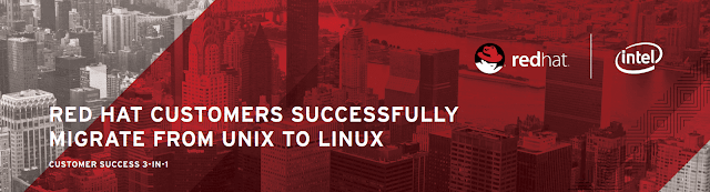 Red Hat customers successfully migrate from Unix to Linux