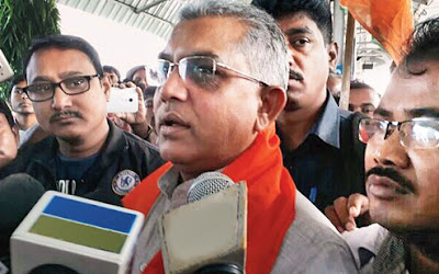 Dilip Ghosh West Bengal state BJP President