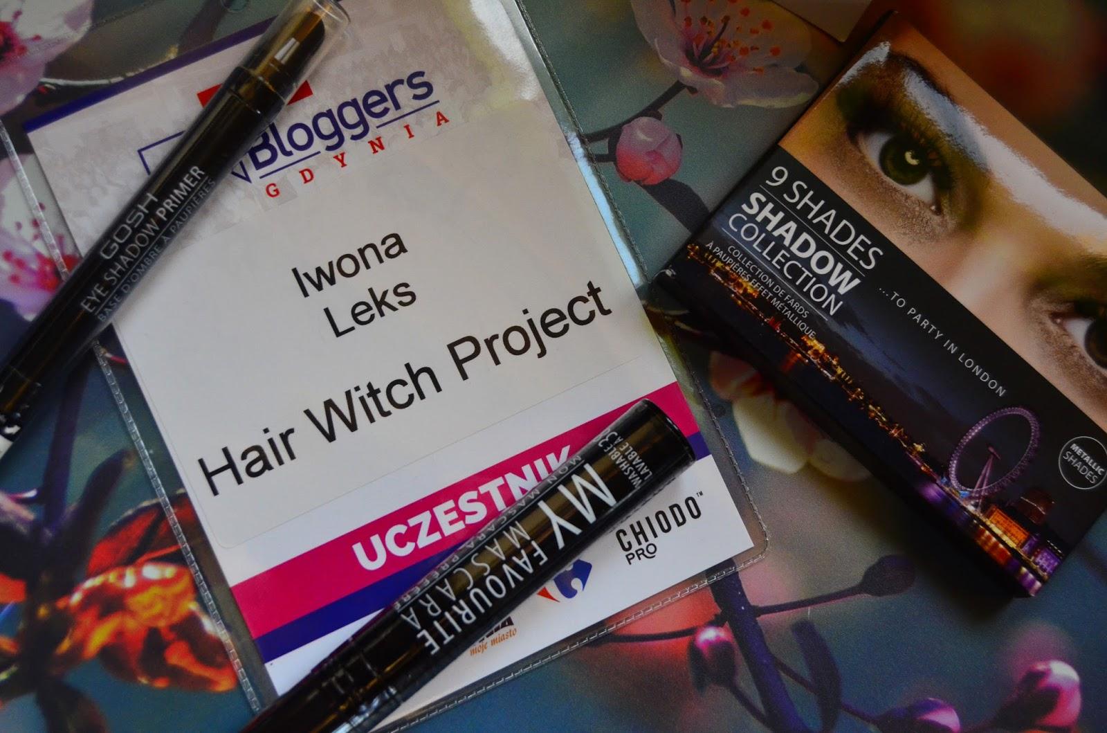 hairwitchproject | gosh | kosmetyki | tusz do rzęs | paleta cieni