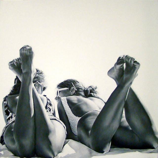 Гипер-реалистичные рисунки Марты Пентер