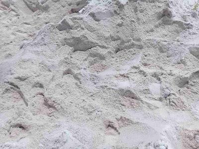 pasir bangka plester