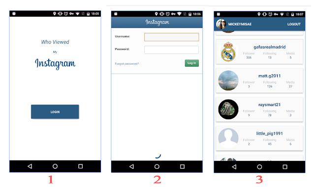 Bagaimana cara melihat pengunjung atau orang yang melihat alias sering Stalking profil kit Melihat Siapa Yang Sering Stalking atau melihat Profil Instagram Kita