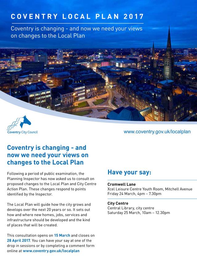 Burton Green Coventry Local Plan Consultation