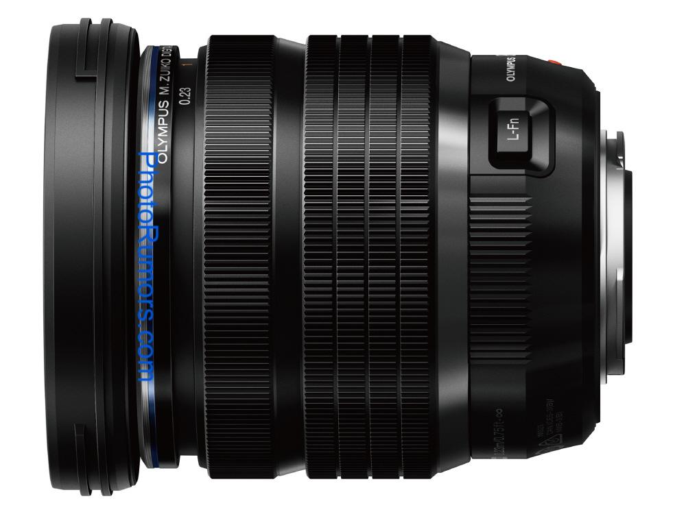Olympus M.Zuiko Digital 8-25mm f/4 Pro