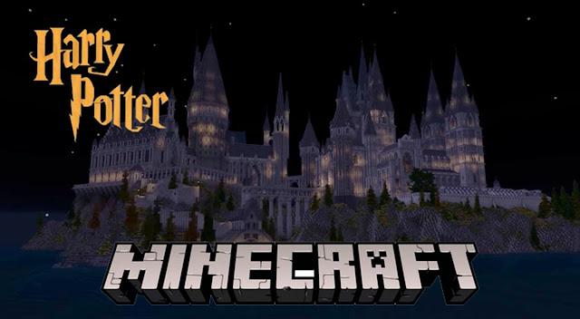 Harry Potter RPG construído inteiramente em Minecraft é anos em construção