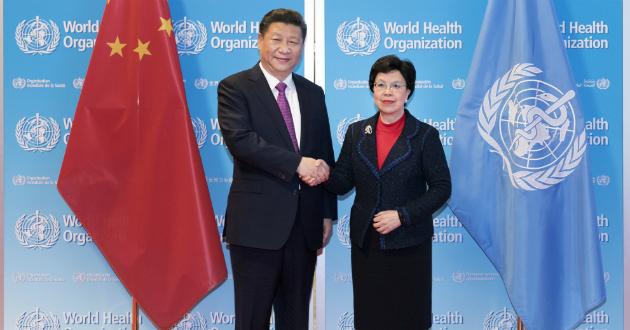 Xi Jinping, WHO