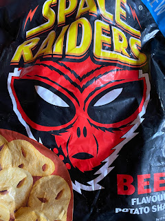 Iceland's Beef Space Raiders Potato Shapes
