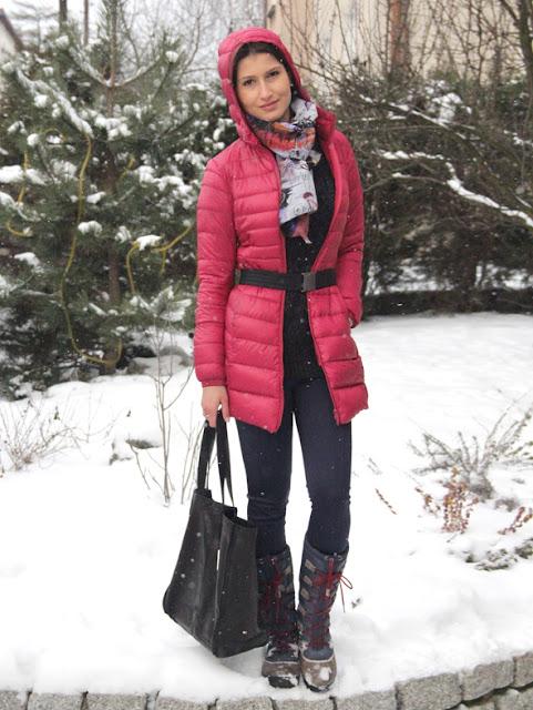 poznań streetstyle, puchówka, street style zima, kurtka puchowa, puchówka, novamoda style, co nosic zima, moda zima, co nosic zima, cosy style, comfy look,