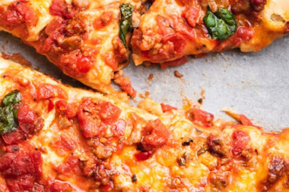 Sausage and Calabrian Pepper Pizza