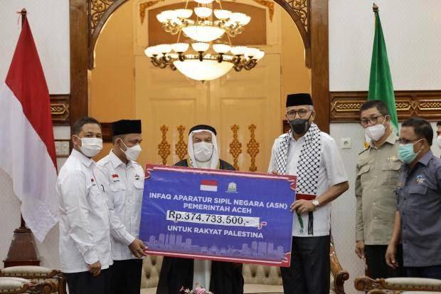 Pemerintah Aceh Mengecam Keras Kebiadaban Zionisme Yahudi Terhadap Bangsa Palestina